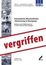 Kinematische Messmethoden. »Vermessung in Bewegung«